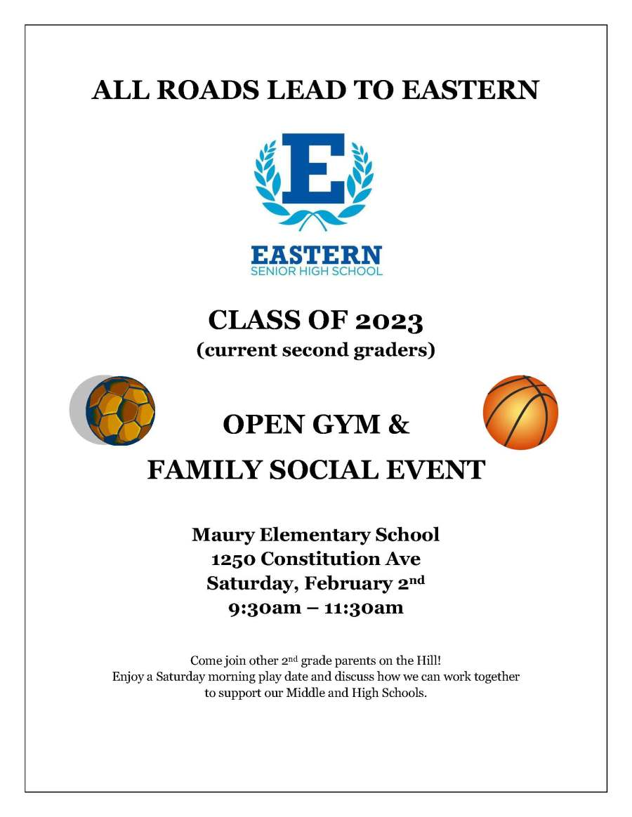 Class of 2023 - Open Gym