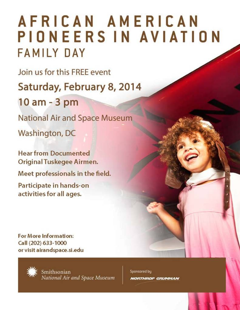 African American Pioneers flyer 2014