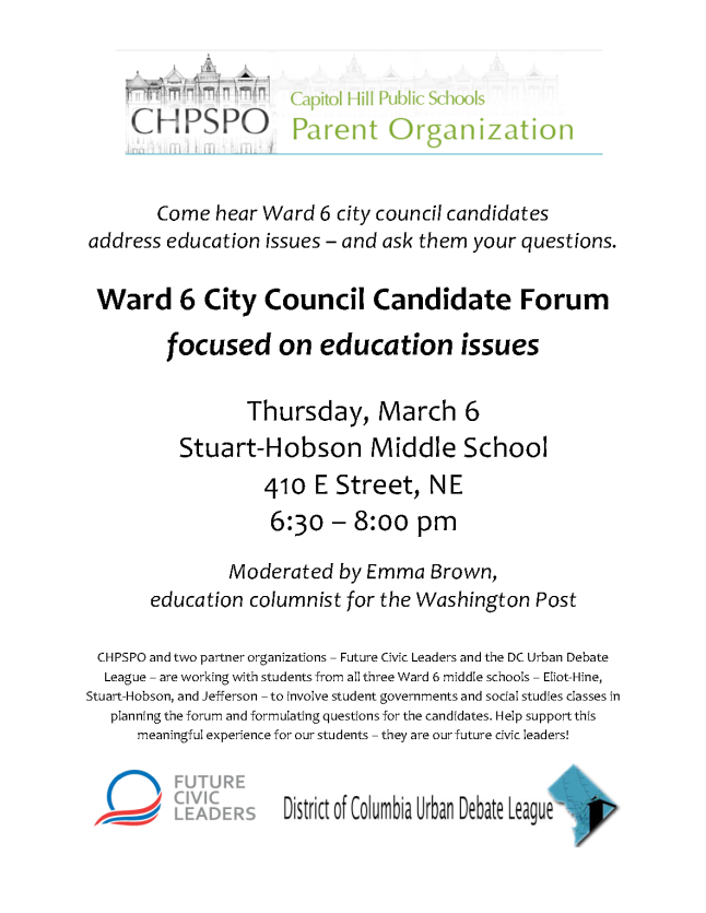 CHPSPO W6 candidates forum March 6-flyer (1)