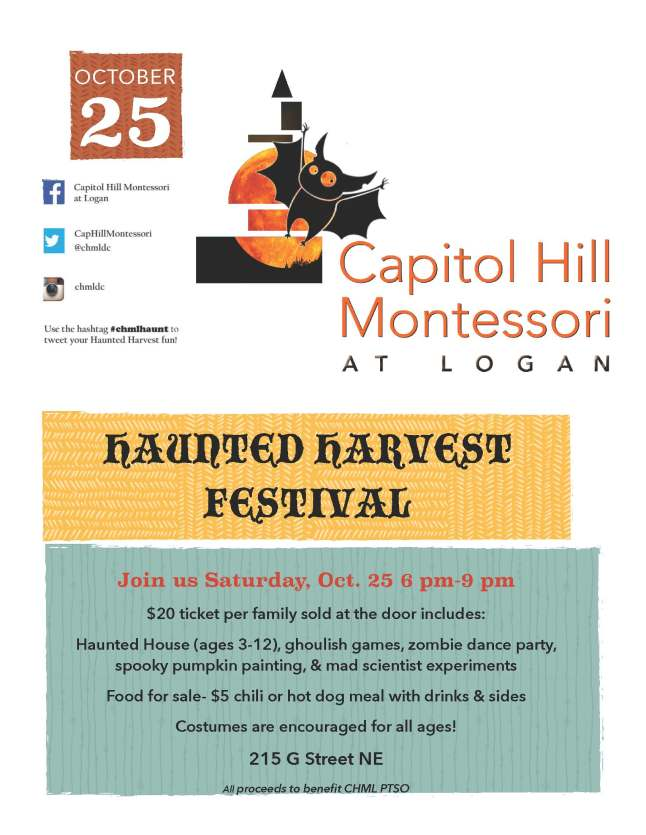 Final Haunted Harvest 2014 poster
