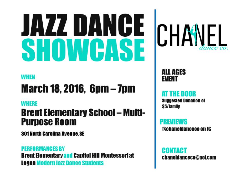 chanel dance poster